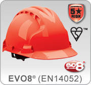 EVO 8 Safety helmets EN14052